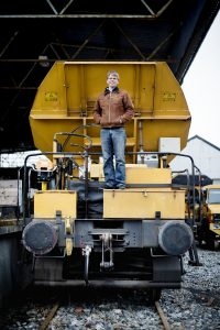 Heimon Winkelman Produksjonsleder grunder grenland rail