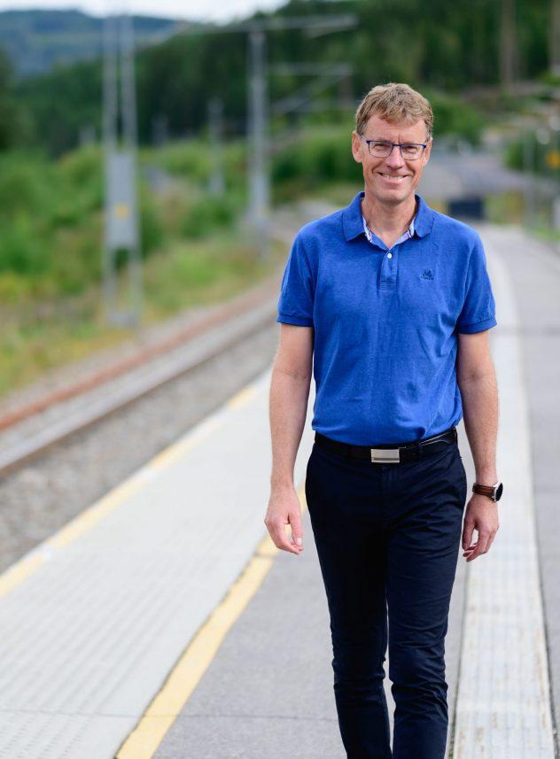 Hils på den nye jernbanedirektøren!